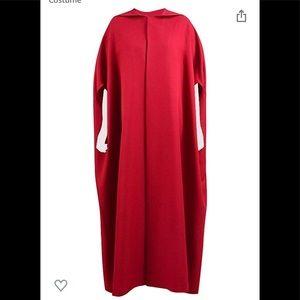 Handmaid Tale Costume XXL Cloak w/Hood & White Cap